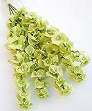 "Wedding Flowers 21"" Light Green Bells Ireland Bush Silk Home Party Decor 5 Stems"