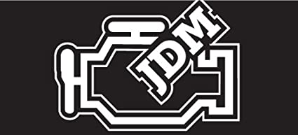Amazon com: JDM Engine Lamp Decal, sticker, die cut, drifting
