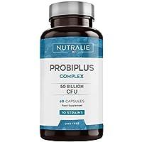 Probiótico Probiplus 50 mil millones de UFC garantizados por dosis | 10 cepas efectivas y…