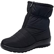 Womens Ladies Winter Waterproof Thermal Martin Short Thickened Snow Boots Footwear Warm Shoes
