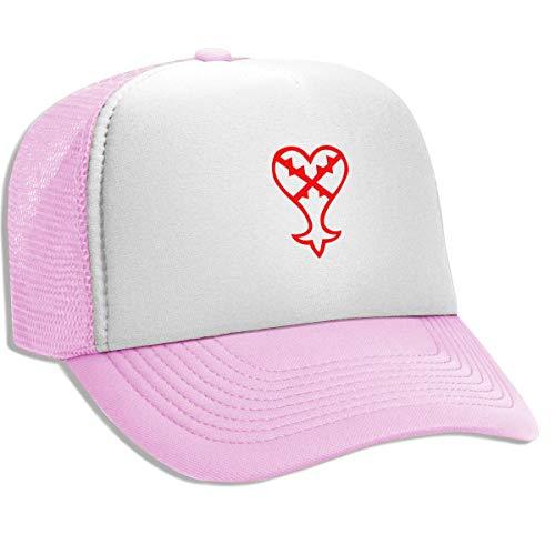 d07bf1ea7f2be Unisex Adult Trucker Hat Heartless Logo (Red) Kingdom Hearts Adjustable  Mesh Cap Baseball Cap