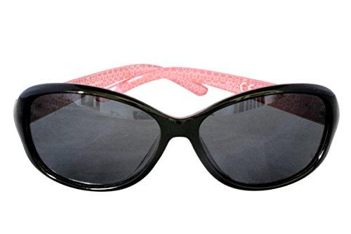 Rectangular Plastic Frame Sunglasses - 7