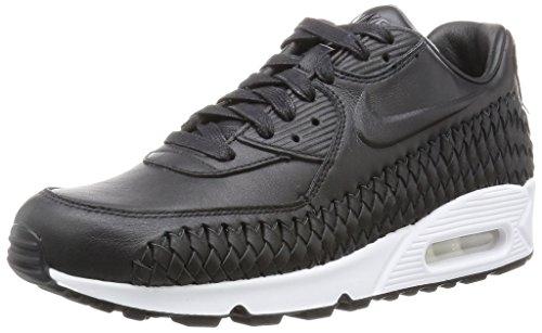 Nike - Air Max 90 Woven - 833129001 - Farbe: Schwarz-Weiß - Größe: 42.0