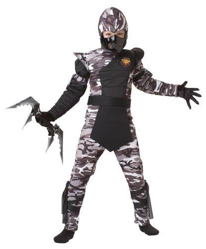 California Costumes Arctic Forces Ninja Child Costume, Large