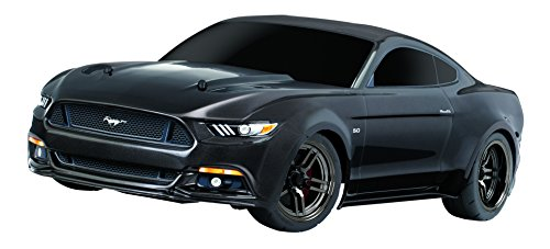 Traxxas Automobile Electric Awd Ford Mustang GT Race Car with TQ 2.4GHz Remote Control, Black, Size 1/10