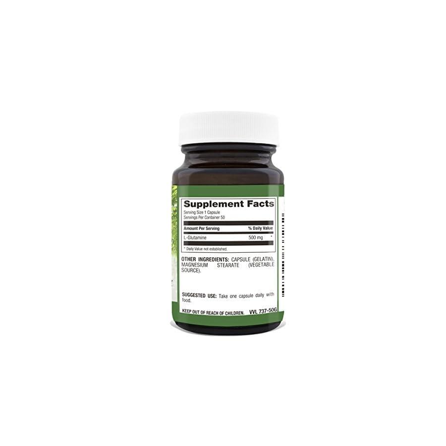 Natural Nutra L Glutamine, 50 Capsules, 500 mg