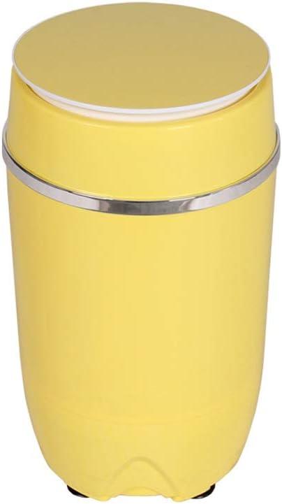 RMXMY Mini Lavadora 3,5 kg Capacidad de Lavado Pequeño elución un Barril de bebé de Gran Capacidad de los niños del hogar semiautomática Tubo Individual (Color : B)