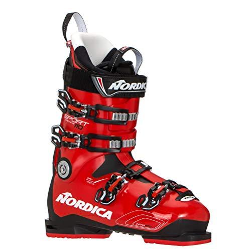 Nordica Sportmachine 110 Ski Boot - Men's Black/Red/White, 26.5 (Mens Boots Ski Nordica)