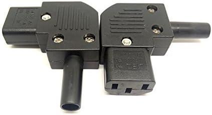 Cable de ángulo recto IEC Zócalo Rewireable C13