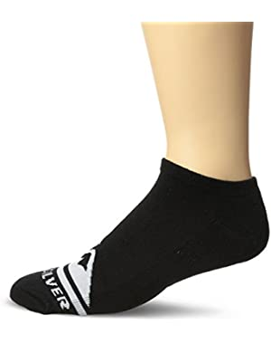 Men's 6 Pack Half Cushion Racer Sock