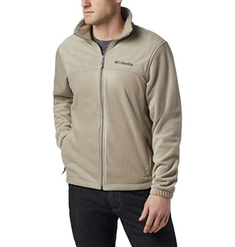 Columbia Men's Steens Mountain Full Zip 2.0, Soft Fleece with Classic Fit, Tusk, 2X