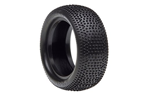 AKA Products 13307V Racing Buggy Impact 4WD Front Super Soft Tire, Scale 1:10