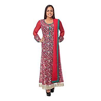 Delhi Design Multi Color Festive Ethnic Wear Set For Women