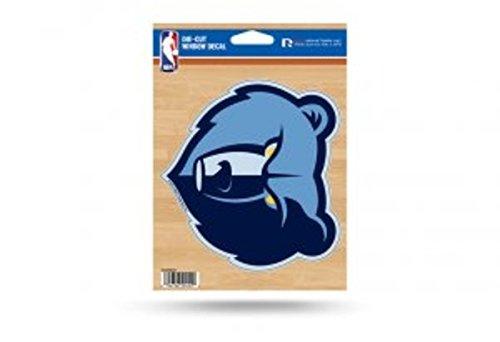 Nba Window Decals - NBA Memphis Grizzlies Die Cut Vinyl Decal
