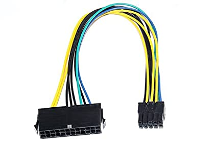 Amazon.com: Eyeboot 24 Pin to 10 Pin Power Supply ATX PSU Adapter ...