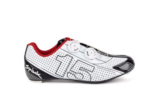 Spiuk 15 Road Carbono - Zapatilla de ciclismo unisex Blanco