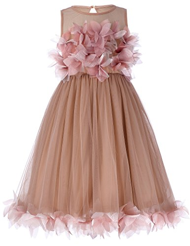 GRACE KARIN Baby Girls Princess Lace Flower Tulle Gown Formal Party Dress 2-3yrs CL456-1