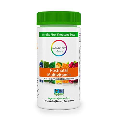 Rainbow Light Vibrance Postnatal Multivitamin - 120 Count (Rainbow Prenatal Vitamins)