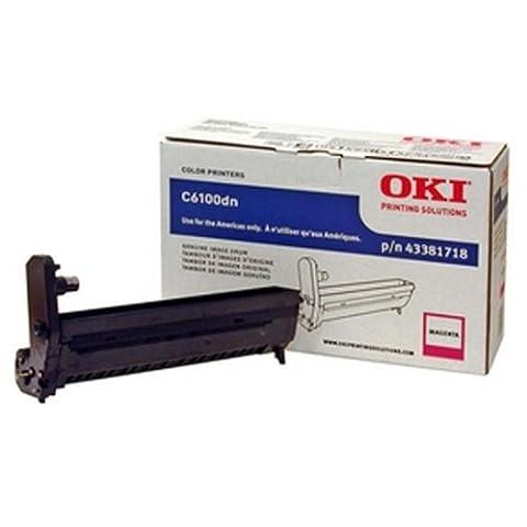 OKI43381718 - Oki Magenta Image Drum Kit For C6100 Series Printers - 43381718 Magenta Image Drum