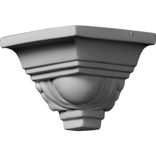 Ekena Millwork MOC02X02EG  2 1/8-Inch P x 2 1/8-Inch H Outside Corner for Molding (Installing Crown Molding Inside Corner)