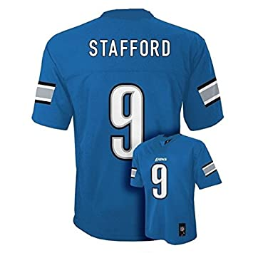 ... Matt Stafford 9 Detroit Lions NFL Youth Mid-tier Jersey Blue (Youth  Small ... e9cf056e3