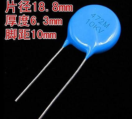 Entstörkondensator 4,7nf y5u y2 10x wyo 472 mcmcf 0kr Condensateur Céramique x1