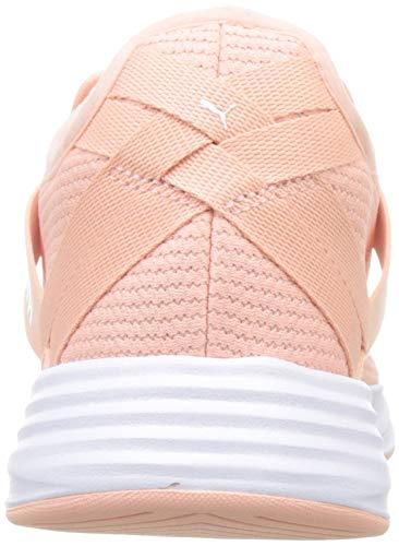 Rosa Radiate puma Para Deporte Wn's peach White Xt De Puma Bud Zapatillas Mujer wxS8WH