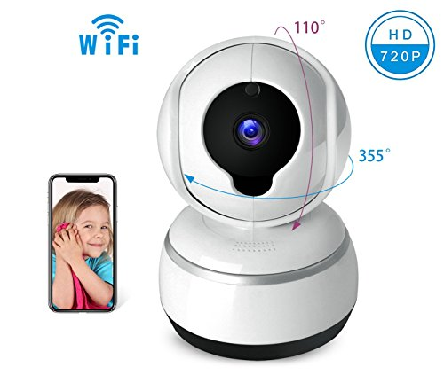 Baby Camera IOS/Android APP Remote Control Camera, WIFI Camera, 720P HD IP Camera, Two-Way Voice Intercom, Move Alarm, Infrared Night Vision Function, Pan/Tilt/Zoom with Home Security System by Boying-hitec