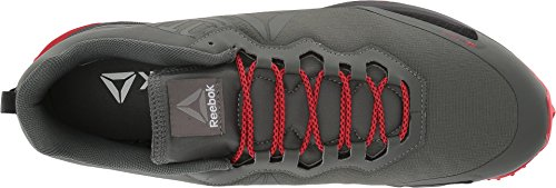Reebok Mens All Terrain Mania Ironstone / Dayglow Rosso / Nero