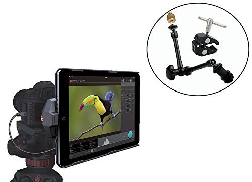 Manfrotto Digital Director for iPad Mini 3 and iPad Mini 2 And For Canon and Nikon DSLR Digital Cameras With Ivation Tripod Mounting Solution by Manfrotto
