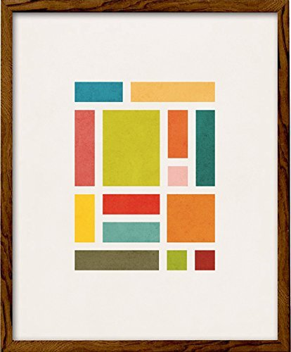 Amazon Com Rectangles 3 Geometric Art Print By Latte