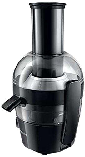 Philips HR1855/00 Centrifugeuse Noire 700W, Quickclean Nettoyage 1mn, cheminée XL, tamis inversé...