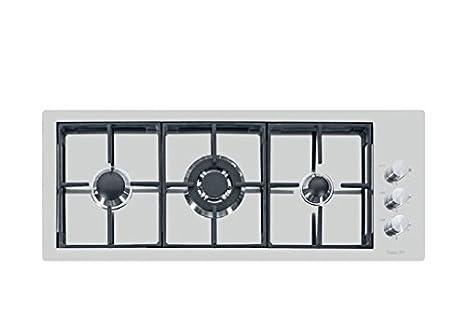 Foster S4000 Piano Cottura, Metallo, Argento Spazzolato, 92.5x36 ...
