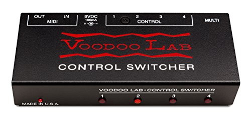 Midi Guitar Effects (Voodoo Lab Control Switcher MIDI Amp Commander)