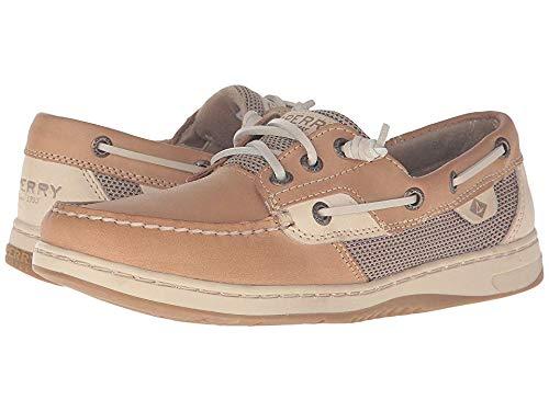 SPERRY Top-Sider Women's Rosefish Boat Shoe, Linen/Oat 8.5 (Top Sperry Shoes For Women)