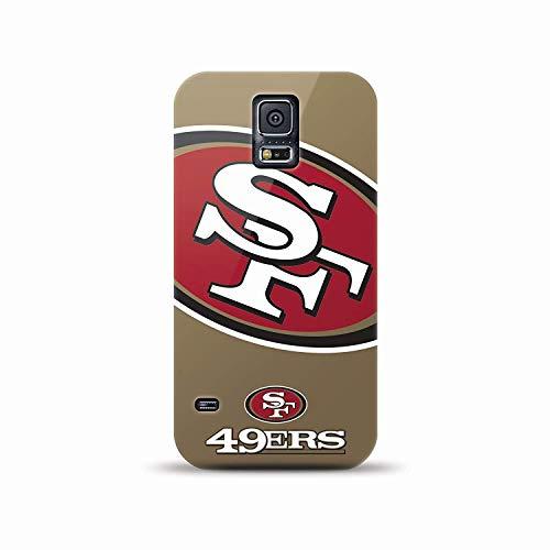 Mizco Sports Case Samsung Galaxy S5 Licensed NFL San Francisco 49ersTPU Gel Case by Mizco Sports Case