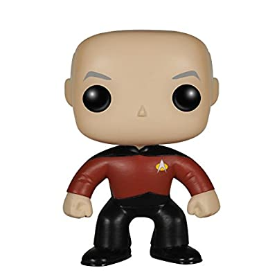 Funko POP TV: Star Trek The Next Generation - Jean-Luc Picard Action Figure: Funko Pop! Television:: Toys & Games