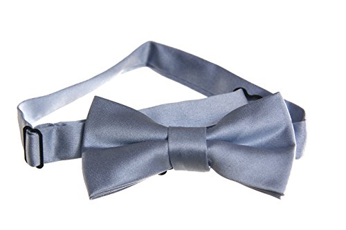 Pre-Tied-Bow-Tie-with-Adjustable-Neck-Strap-Boys-and-Mens-Size-Options