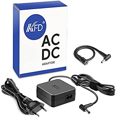KFD 45W 65W Adaptador Cargador Ordenador Portátil para ASUS Q301L Q501L Q502 Q502L Q551 TP500 TP500L TP500LA TP500LD F502C F502CA F551M F555L F555LA ...