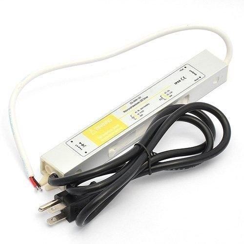 30 Watt Waterproof LED Power Supply Driver Transformer 120 to 12 Volt Dc Output