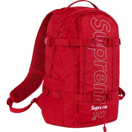 Supreme Backpack   Red   18FW ( シュプリーム バックパック   レッド   18FW)[国内正規品] (Red) B07GTD5KLV