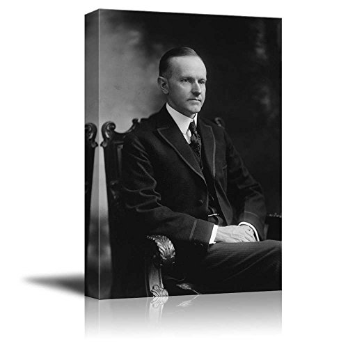Portrait of Calvin Coolidge (30th President of The United States) American Presidents Series