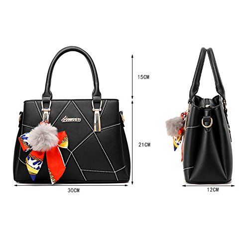 Handbags Shopper Bolsa De Bag Bag Paquete Female Messenger Ladies Hombro Handbag Womens Rosa Ruiren 7qU1S