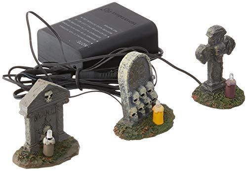 Department 56 Accessories for Villages Halloween Spooky Graveyard Vigil Figurine]()