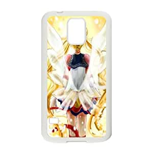 LSQDIY(R) sailor moon SamSung Galaxy S5 I9600 Plastic Case, Personalised SamSung Galaxy S5 I9600 Case sailor moon