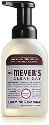 Mrs. Meyer's Clean Day Foaming Hand Soap - Lavender 10 fl oz (296 ml) Liquid