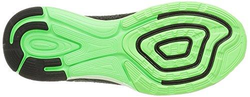 Nike Heren Lunarglide 7 Hardloopschoen Zwart / Mtlc Pwtr-anthrct-brly Grn