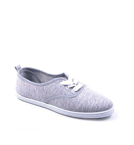 de Mujer casa Jumex Zapatillas gris qAnHwXx