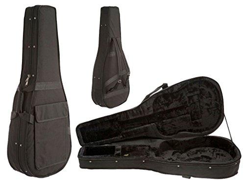 Poly Foam Electric Guitar Case (D'Luca SF41 Full Size 41-Inch Acoustic Guitar Lightweight Foam Case)