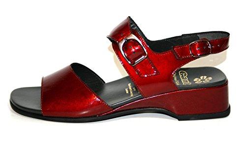 Ganter - Sandalias Romanas Mujer Rojo - rojo